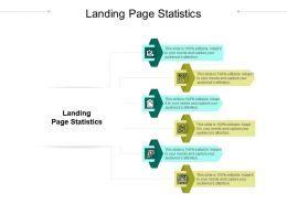 Landing Page Statistics Ppt Powerpoint Presentation Design Ideas Cpb