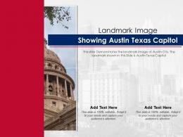 Landmark Image Showing Austin Texas Capitol Ppt Template