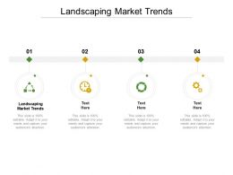 Landscaping Market Trends Ppt Powerpoint Presentation Portfolio Visual Aids Cpb
