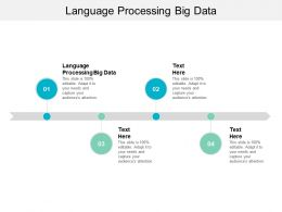Language Processing Big Data Ppt Powerpoint Presentation Infographics File Formats Cpb