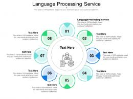 Language Processing Service Ppt Powerpoint Presentation Infographics Introduction Cpb