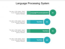 Language Processing System Ppt Powerpoint Presentation Portfolio Images Cpb