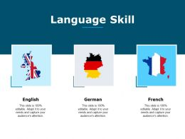 Language Skill Ppt Powerpoint Presentation Pictures Background Images