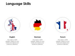 Language Skills Audiences Attention Ppt Powerpoint Presentation File Slide Portrait