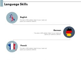 Language Skills Information Geography Ppt Powerpoint Presentation Slides Layouts