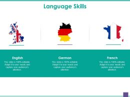 Language Skills Powerpoint Presentation Examples