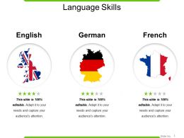 Language Skills Powerpoint Slide Backgrounds