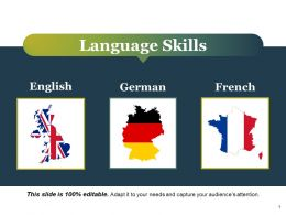 Language Skills Ppt Styles Graphics Template