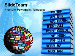 Languages Of The World Global Powerpoint Templates Ppt Themes And Graphics 0113