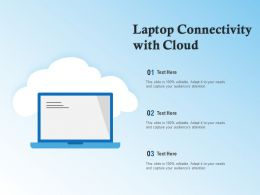 Laptop Connectivity With Cloud