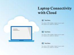Laptop Connectivity With Cloud