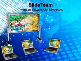 Laptop Keyboard Image Templates And Themes Business Use Case Presentation