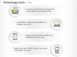 Laptop Mobiles Data Technology Ppt Icons Graphics