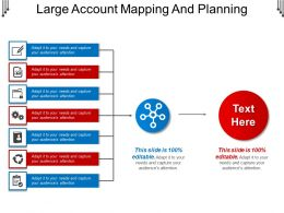 Large Account Mapping And Planning Powerpoint Graphics