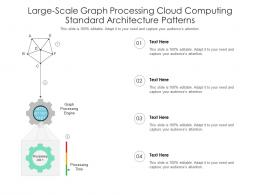 Large Scale Graph Processing Cloud Computing Standard Architecture Patterns Ppt Slide