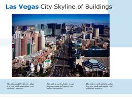 Las Vegas City Skyline Of Buildings
