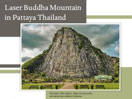 Laser Buddha Mountain In Pattaya Thailand