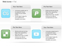 Lastfm Paypal Delicious You Tube Ppt Icons Graphics
