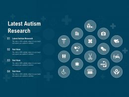 Latest Autism Research Ppt Powerpoint Presentation Pictures Objects