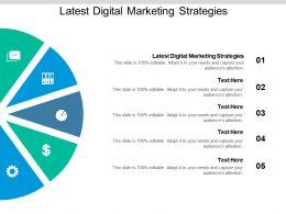 Latest Digital Marketing Strategies Ppt Powerpoint Presentation Visual Aids Cpb
