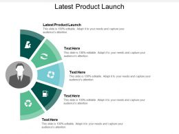 Latest Product Launch Ppt Powerpoint Presentation Gallery Files Cpb