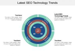 Latest SEO Technology Trends Ppt Powerpoint Presentation Styles Master Slide Cpb