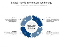Latest Trends Information Technology Ppt Powerpoint Themes Cpb