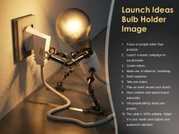 Launch Ideas Bulb Holder Image