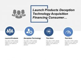 Launch Products Deception Technology Acquisition Financing Consumer Industrial Cpb