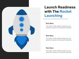 Launch Readiness With The Rocket Launching
