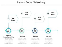 Launch Social Networking Ppt Powerpoint Presentation Visual Aids Icon Cpb