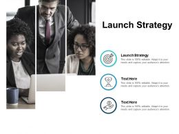 Launch Strategy Ppt Powerpoint Presentation Ideas Inspiration Cpb