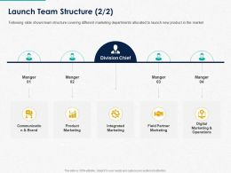 Launch Team Structure Ppt Powerpoint Presentation Slides Graphics Tutorials