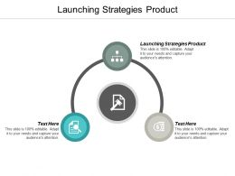 Launching Strategies Product Ppt Powerpoint Presentation Ideas Design Inspiration Cpb