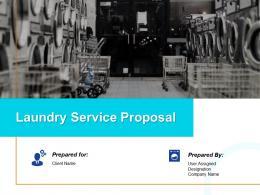 Laundry Service Proposal Powerpoint Presentation Slides