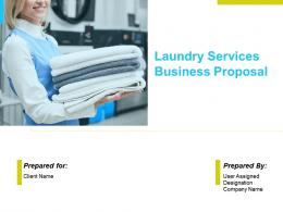 Laundry Services Business Proposal Powerpoint Presentation Slides