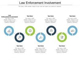 Law Enforcement Involvement Ppt Powerpoint Presentation Icon Ideas Cpb
