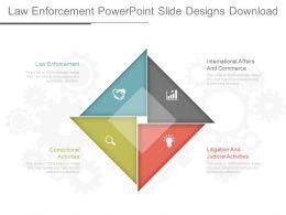 Law Enforcement Powerpoint Slide Designs Download