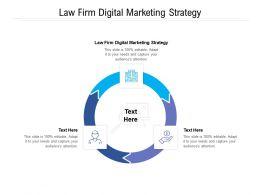 Law Firm Digital Marketing Strategy Ppt Powerpoint Presentation Ideas Model Cpb
