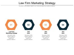 Law Firm Marketing Strategy Ppt Powerpoint Presentation Icon Background Images Cpb