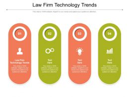 Law Firm Technology Trends Ppt Powerpoint Presentation File Guide Cpb