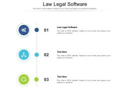 Law Legal Software Ppt Powerpoint Presentation Gallery Summary Cpb