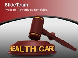 Law Of Health Care Powerpoint Templates Ppt Themes And Graphics 0113