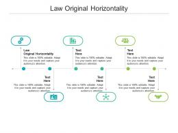 Law Original Horizontality Ppt Powerpoint Presentation Model Outline Cpb