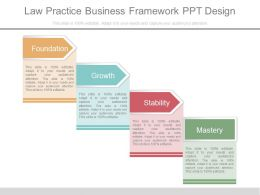 Law Practice Business Framework Ppt Design