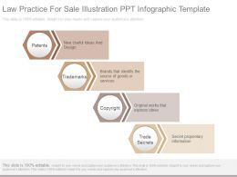 Law Practice For Sale Illustration Ppt Infographic Template