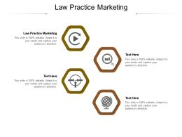 Law Practice Marketing Ppt Powerpoint Presentation Inspiration Guidelines Cpb
