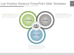 Law Practice Revenue Powerpoint Slide Templates