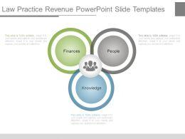 Law Practice Revenue Powerpoint Slide Templates