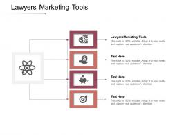 Lawyers Marketing Tools Ppt Powerpoint Presentation File Slideshow Cpb